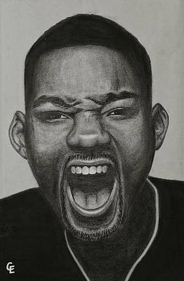 Will Smith Poster by Chrissy Eckman