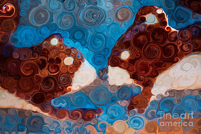 Will You Be My Beaver Poster by Omaste Witkowski