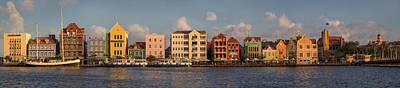 Willemstad Curacao Panoramic Poster by Adam Romanowicz