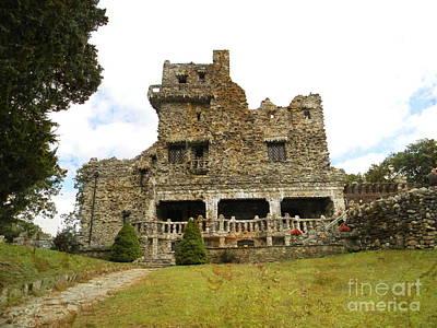 William Gillette Castle Poster by Spirit Baker