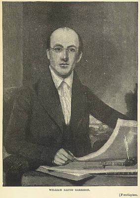 William Lloyd Garrison Poster by British Library
