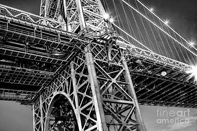 Williamsburg Bridge 5 Poster by Az Jackson