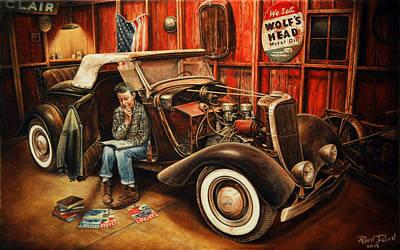 Willie Gillis Builds A Custom Poster by Ruben Duran