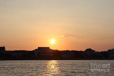 Wilmington North Carolina Sunset Poster by John Telfer