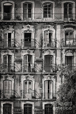 Windows And Balconies 1 Poster by Rod McLean