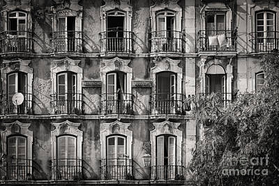 Windows And Balconies 2 Poster by Rod McLean