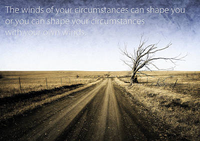Winds Of Circumstance Poster by Eric Benjamin