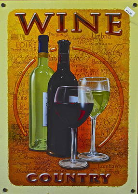 Wine Country Poster by Frozen in Time Fine Art Photography