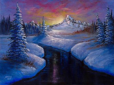Winter Beauty Poster by C Steele