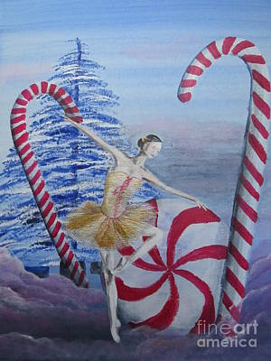 Winter Dancer 2 Poster by Laurianna Taylor