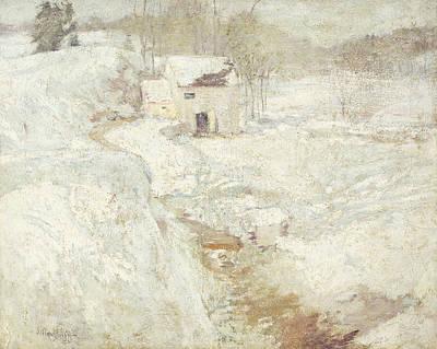 Winter Landscape Poster by John Henry Twachtman