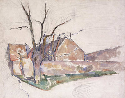 Winter Landscape Poster by Paul Cezanne