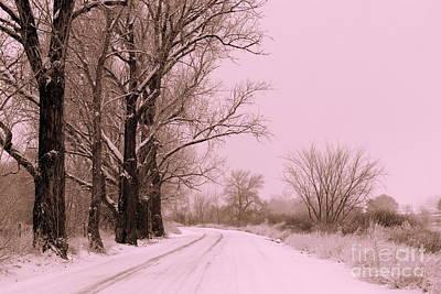 Winter Pink Poster by Carol Groenen
