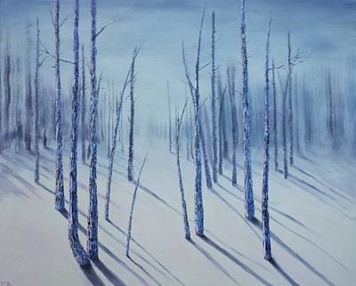Winter Splendor Poster by Xochi Hughes Madera