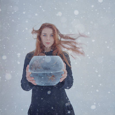 Winter Story Poster by Anka Zhuravleva