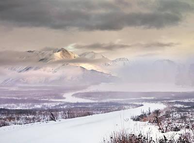 Winter Travel Poster by Leland D Howard
