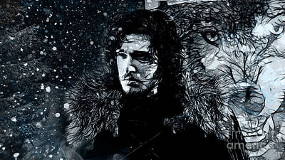 Winter's Coming Poster by The DigArtisT