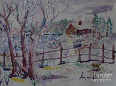 Winter's Joys Poster by Avonelle Kelsey