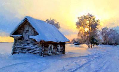 Winter's Tale Poster by Marina Likholat
