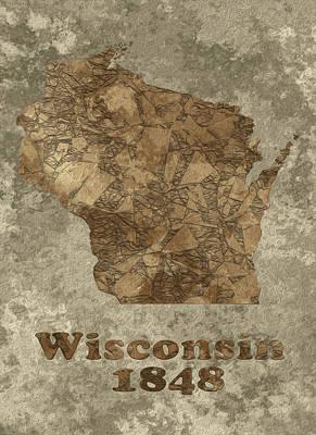 Wisconsin Poster by Jack Zulli