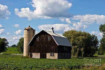 Wisconsin Old Barn 11 Poster by Ms Judi