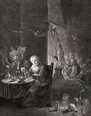 Witchcraft, 18th Century Poster by Science Photo Library