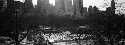 Wollman Rink Ice Skating, Central Park Poster by Panoramic Images