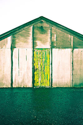Wooden Hut Poster by Tom Gowanlock