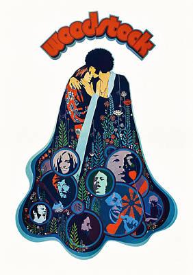 Woodstock, Poster, 1970 Poster by Everett