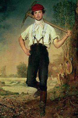 Worker Poster by Johann Baptist Reiter