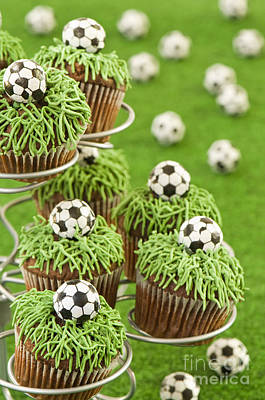 World Cup Cupcakes Poster by Amanda And Christopher Elwell
