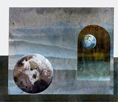Worlds In Worlds In Worlds Poster by Gun Legler