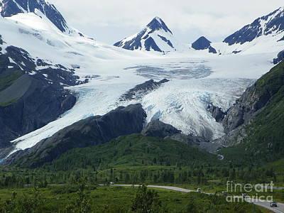 Worthington Glacier Poster by Jennifer Kimberly