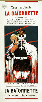 Wwi Poster, 1916 Poster by Granger