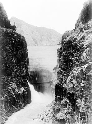 Wyoming Shoshone Dam Poster by Granger