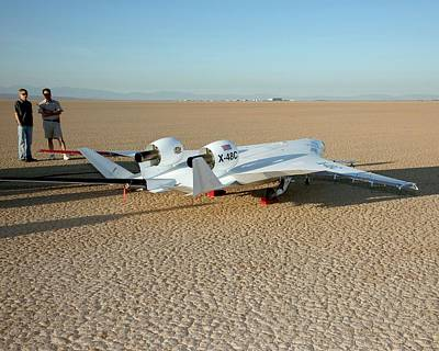X-48c Blended Wing Body Aircraft Poster by Nasa/carla Thomas