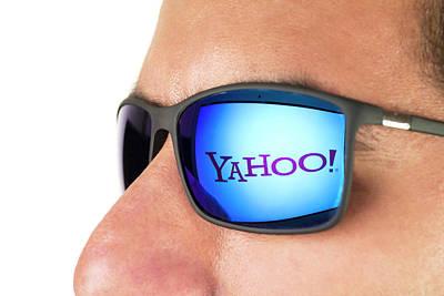 Yahoo! Poster by Daniel Sambraus