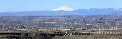 Yakima Valley Panorama Poster by Carol Groenen