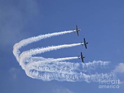 Yaks Aerobatics Team Poster by Jane Rix