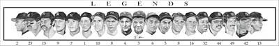 Yankees Poster by Tamir Barkan