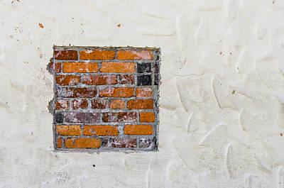 Ybor City Hidden Brick Poster by Carolyn Marshall