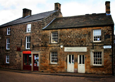 Ye Olde Country Shops - In Bakewell Town Peak District - England Poster by Doc Braham