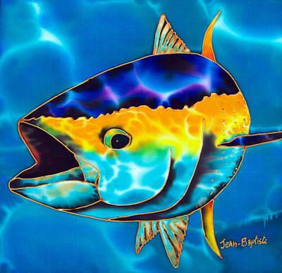 Yellowfin Tuna Poster by Daniel Jean-Baptiste