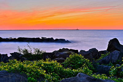 Yes Its Lake Erie Poster by Frozen in Time Fine Art Photography