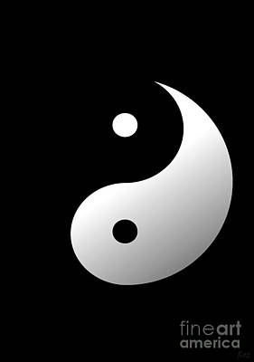 Yin And Yang Poster by Roz Abellera Art