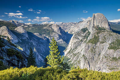 Yosemite Half Dome From Glacier Point Poster by Pierre Leclerc Photography