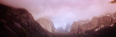 Yosemite Valley Ca Usa Poster by Panoramic Images