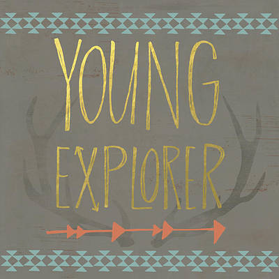 Young Explorer Poster by Katie Doucette