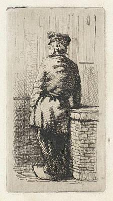 Young Man Wearing Clogs, Jan Weissenbruch Poster by Jan Weissenbruch