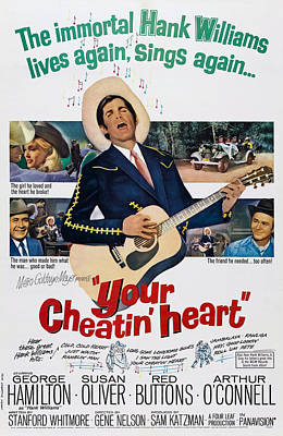 Your Cheatin Heart, Us Poster Art Poster by Everett